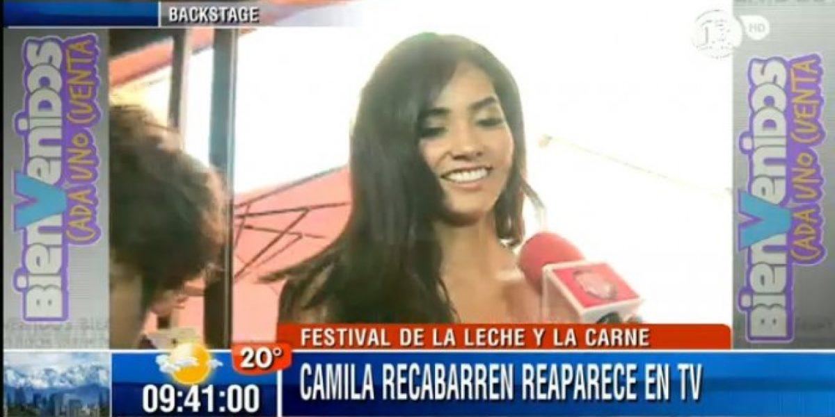 Camila Recabarren reaparece como candidata a reina de Festival de la Leche y la Carne
