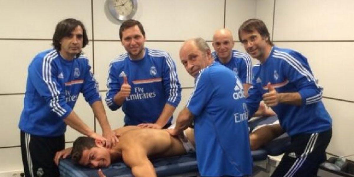 Cristiano Ronaldo le prometió un auto a sus fisioterapeutas