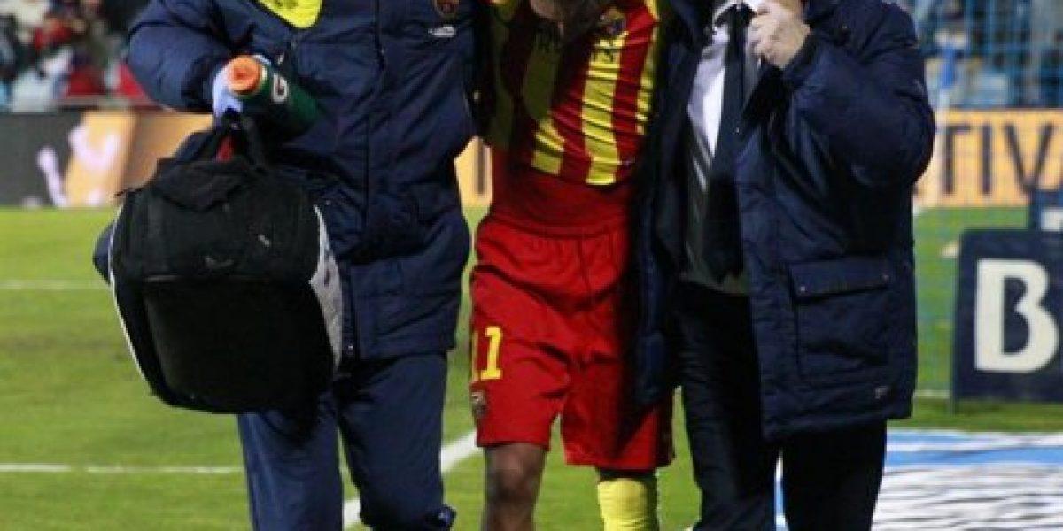 Puro dolor: así fue la lesión de Neymar en la Copa del Rey