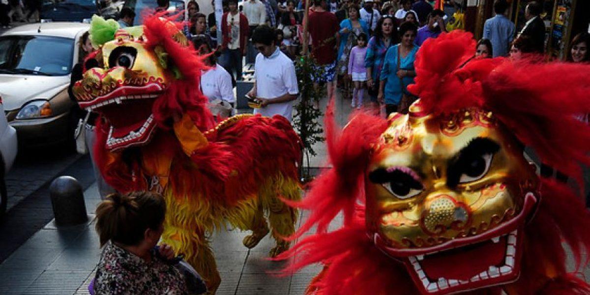 [FOTOS] Así se celebró el año nuevo chino en Viña del Mar