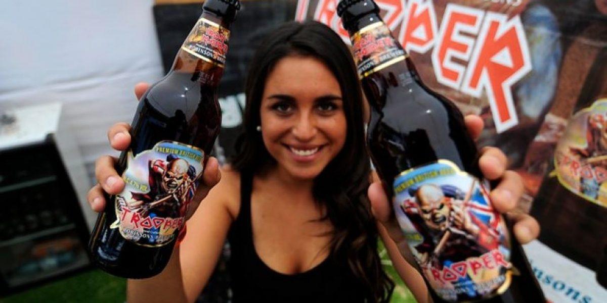 Hasta la cerveza de Iron Maiden está presente en el Festival de la Cerveza de Limache
