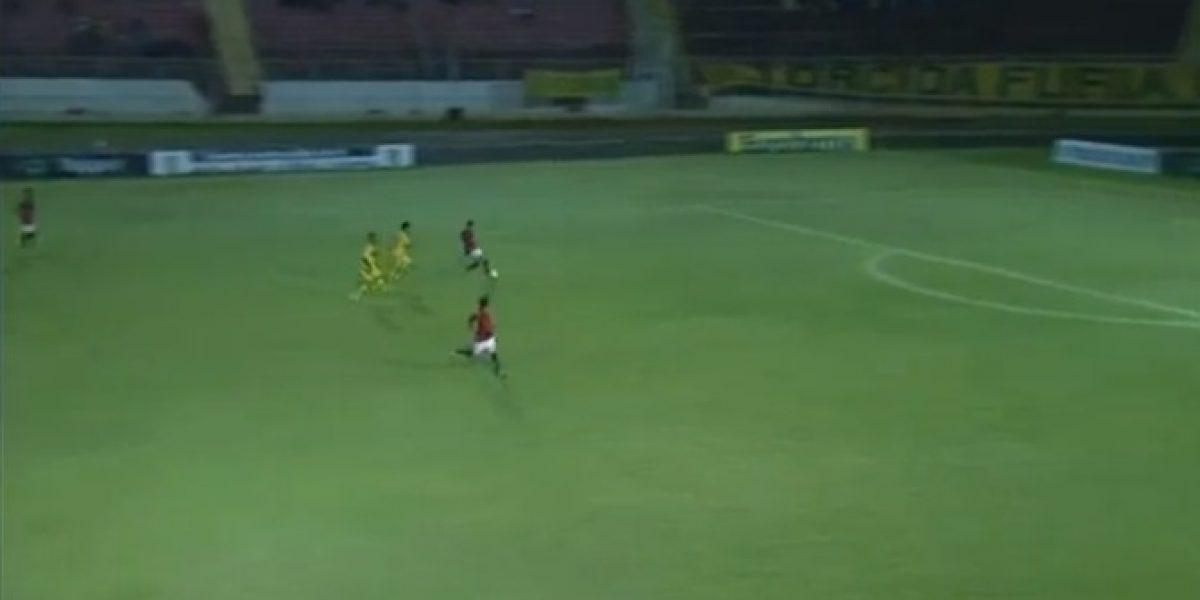 Video: ¡Imperdonable! Jugador de Flamengo se perdió increíble gol