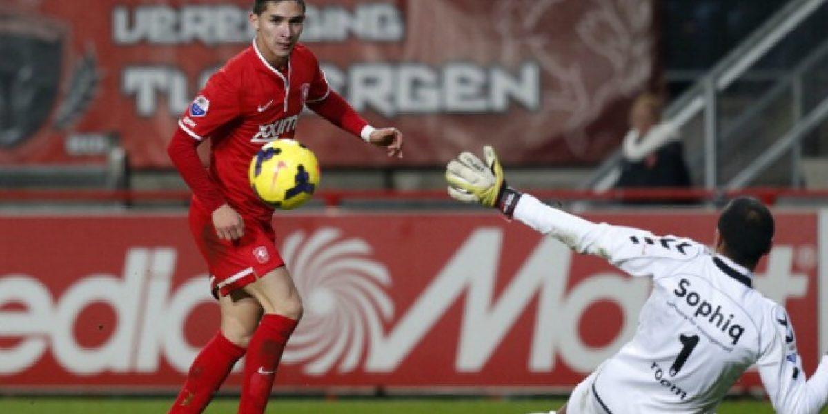 Felipe Gutiérrez dijo presente en triunfo de Twente sobre Heracles