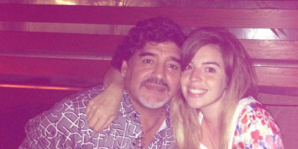 Hija mayor de Maradona debuta como cantante de cumbia