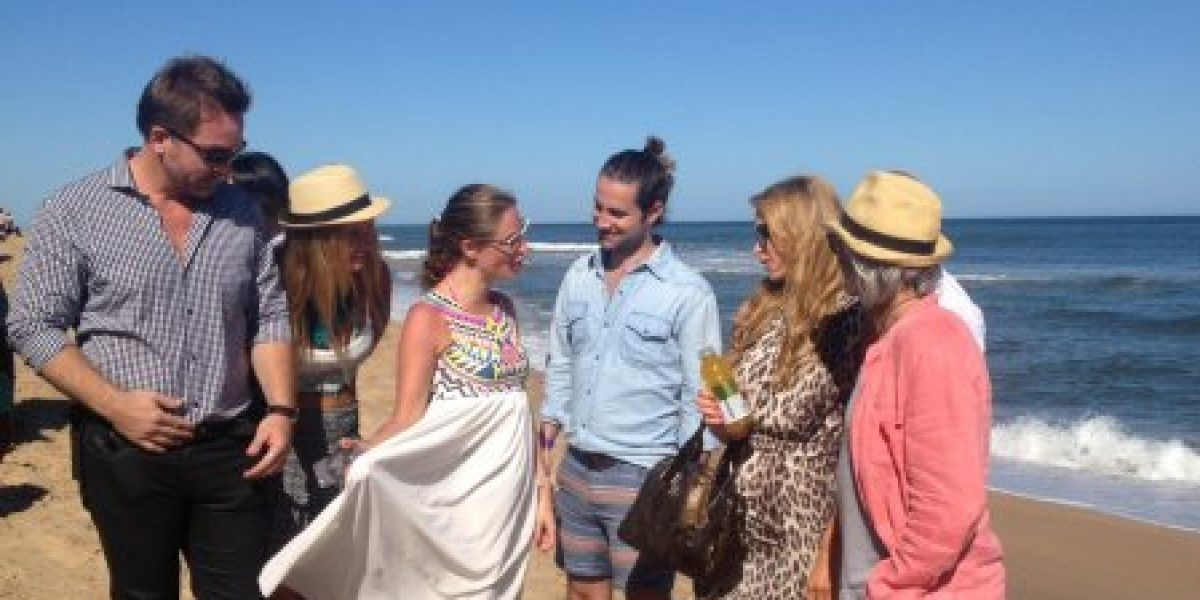Famosos chilenos se codearon con Paris Hilton en Punta del Este