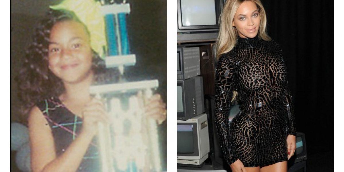 Así era yo cuando niño: Beyoncé