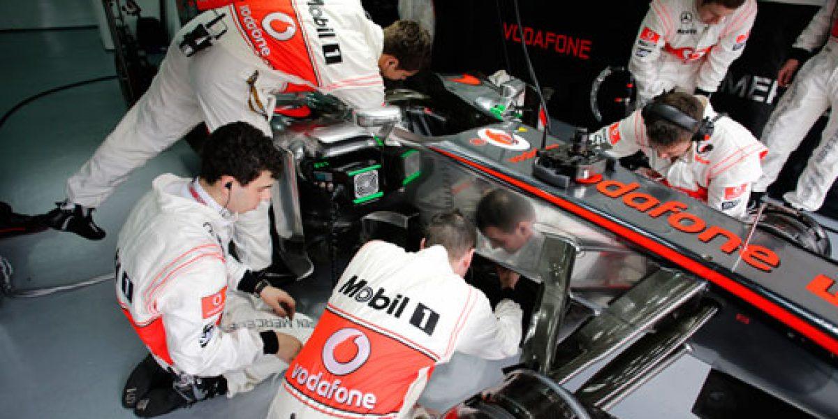Nuevo McLaren no pasa los crash test de la FIA