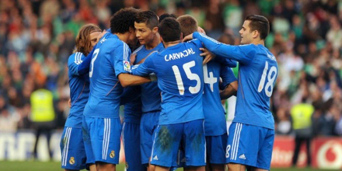 Real Madrid le dio un baile al Betis de Lorenzo Reyes y se hunde en la tabla