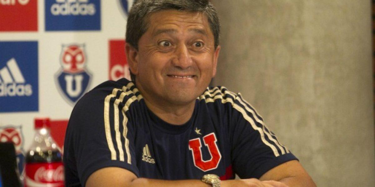 Cristián Romero debutó en la banca de la U con triunfo ante selección Sub 20