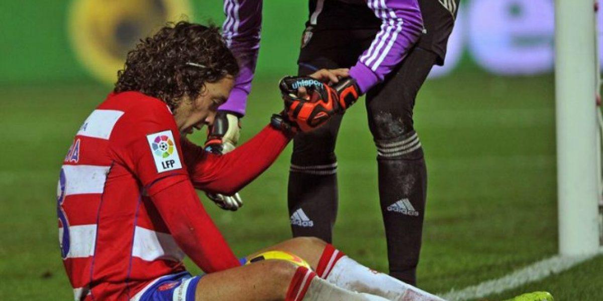 Osasuna de Silva y Granada de Iturra se reparten puntos en España