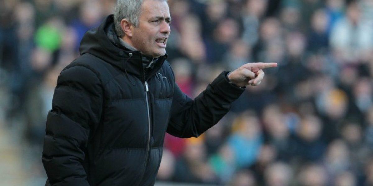 Video: Mourinho y el gran gesto que lo hizo interrumpir la conferencia de prensa