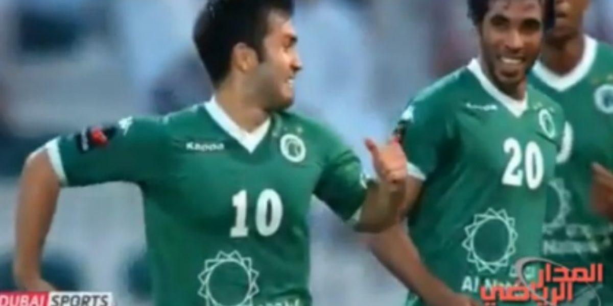 Video: ¡Golazos! de Carlos Villanueva en la liga de Emiratos Árabes
