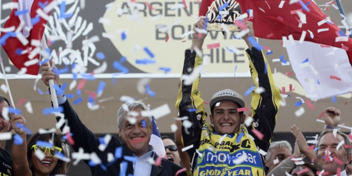 La trastienda del multitudinario podio del Dakar 2014