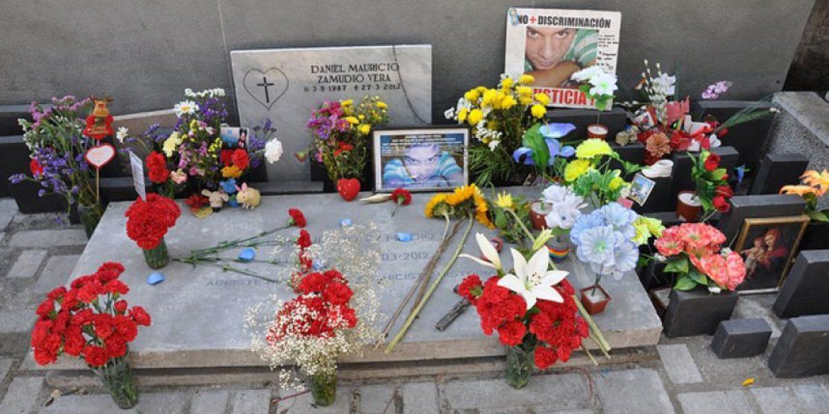 Así fue el traslado de los restos de Daniel Zamudio al Memorial por la Diversidad