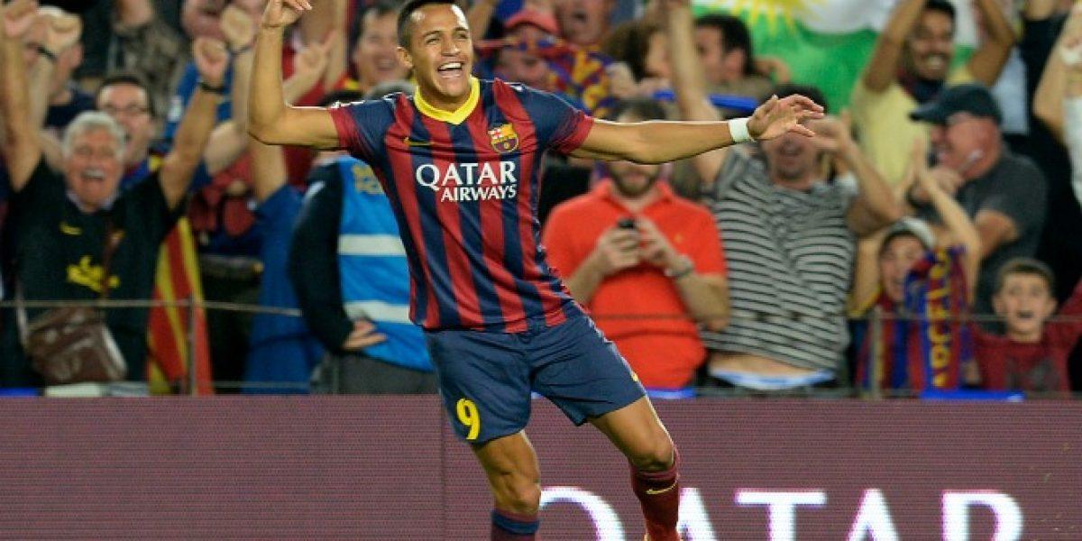 En Directo: Alexis Sánchez será titular del Barcelona ante Levante por la Liga Española