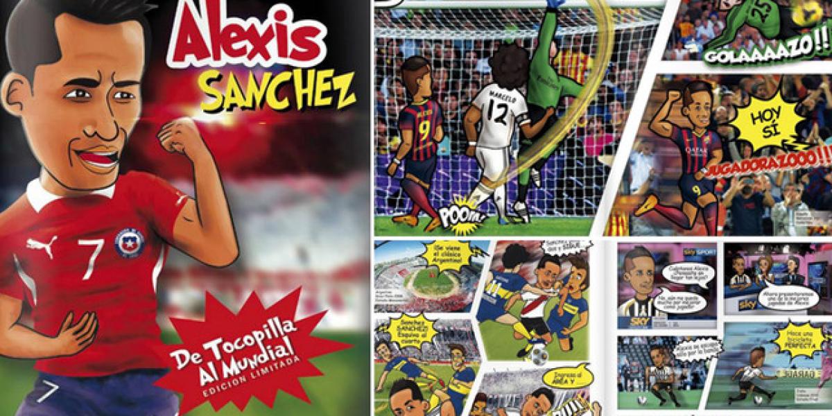 Galería: Alexis Sánchez se transforma en protagonista de historieta