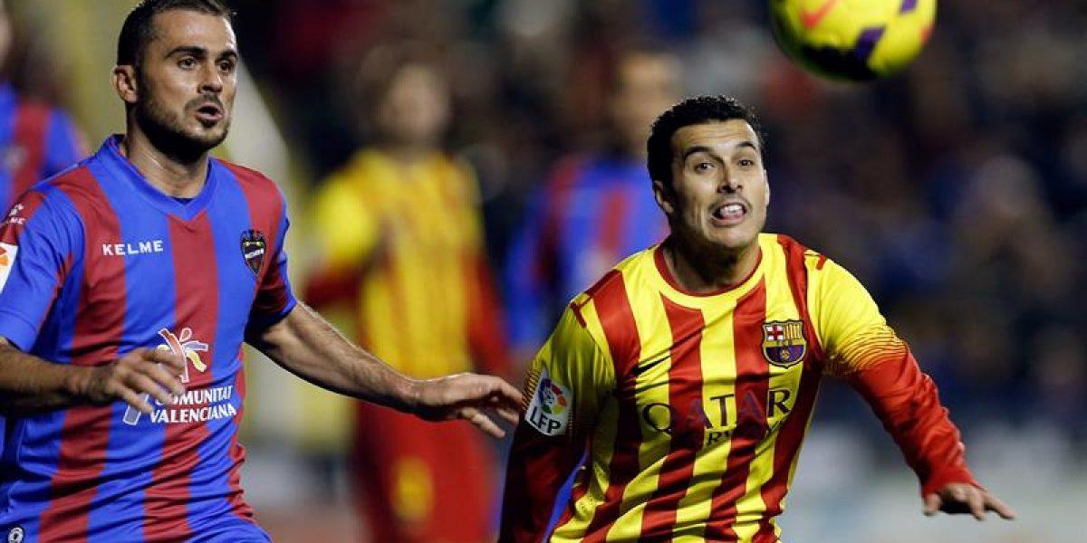 Barcelona empató en su visita al Levante y enreda puntos en la pelea por la Liga Española