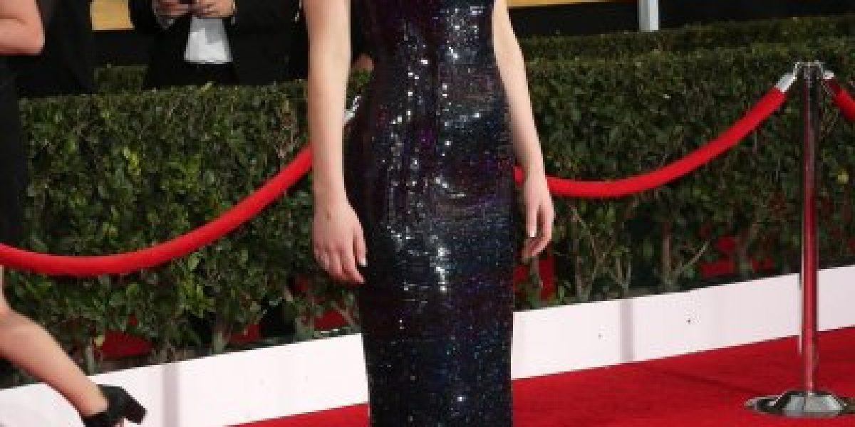 Jennifer Lawrence, espontaneidad y belleza en los SAG Awards