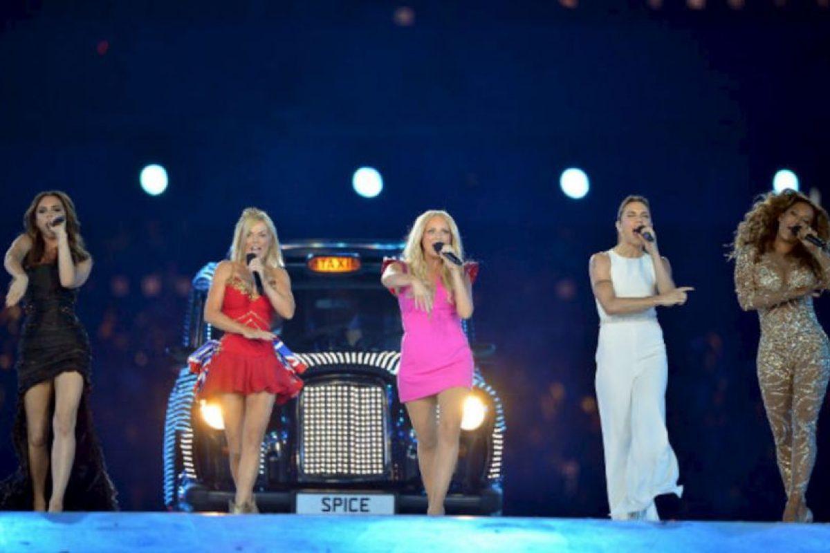 La última reunión de las divas inglesas fue en la ceremonia de clausura de los Juegos Olímpicos de 2012, donde se convirtieron en el invitado musical más tuiteado del evento. Foto:Getty Images. Imagen Por: