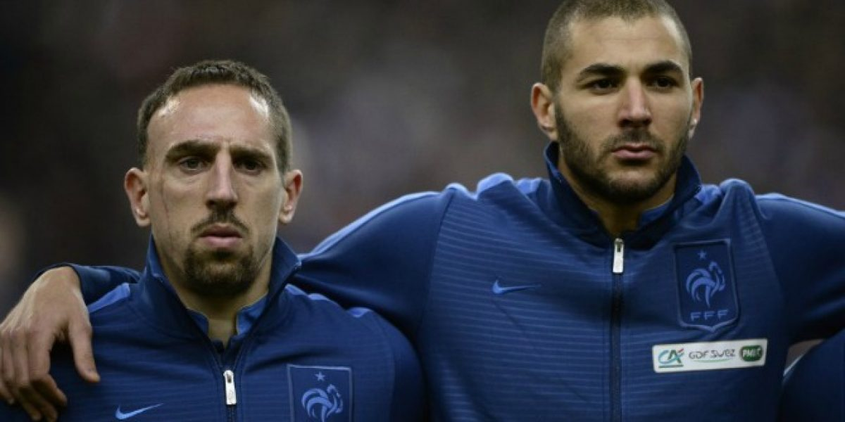 Cuatro días durará el juicio contra Benzema y Ribery por prostitución a menores