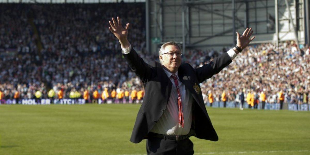 Extrañan a Ferguson: Especial campaña en las afueras del Old Trafford