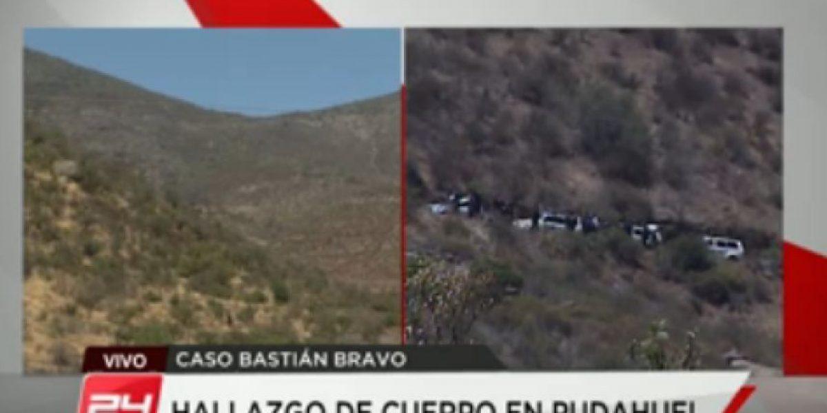 Ministerio Público señala que cuerpo encontrado en cuesta Lo Prado podría ser de Bastián Bravo