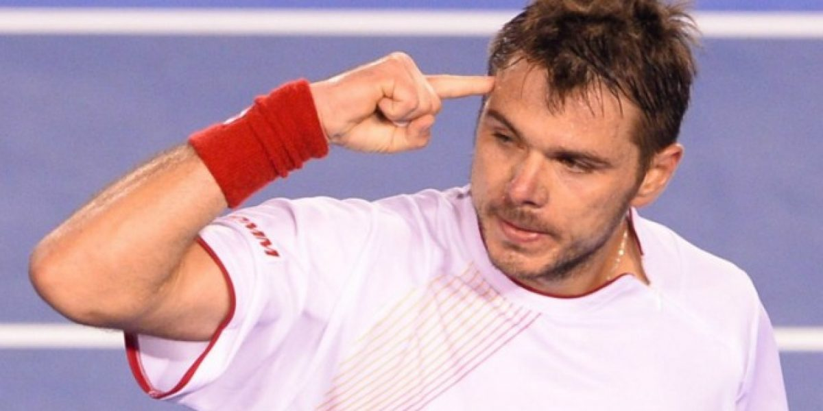 Stanislas Wawrinka da el golpe en Australia al vencer a Novak Djokovic