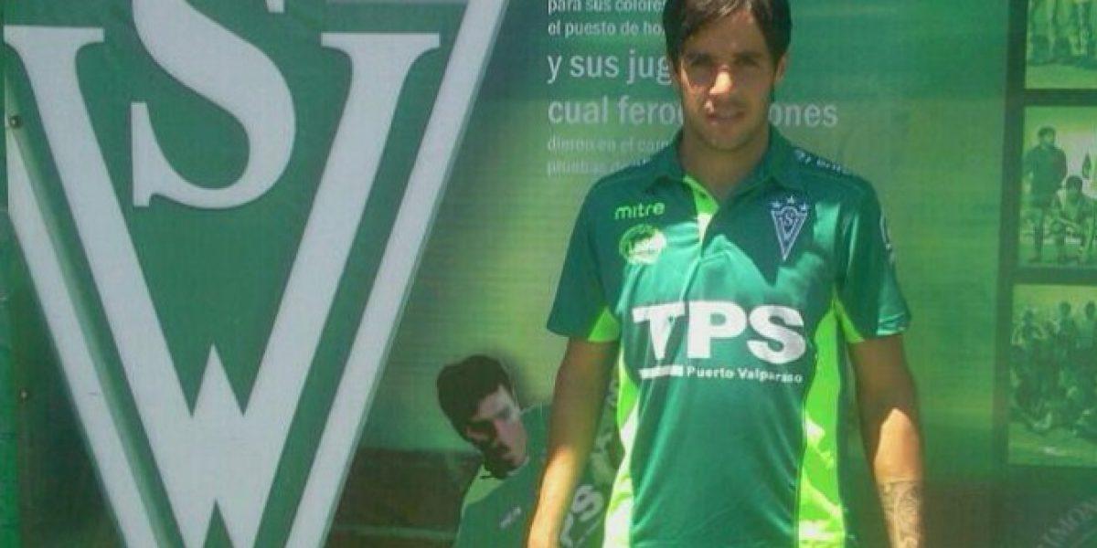 Fernando De la Fuente es presentado como refuerzo de Santiago Wanderers