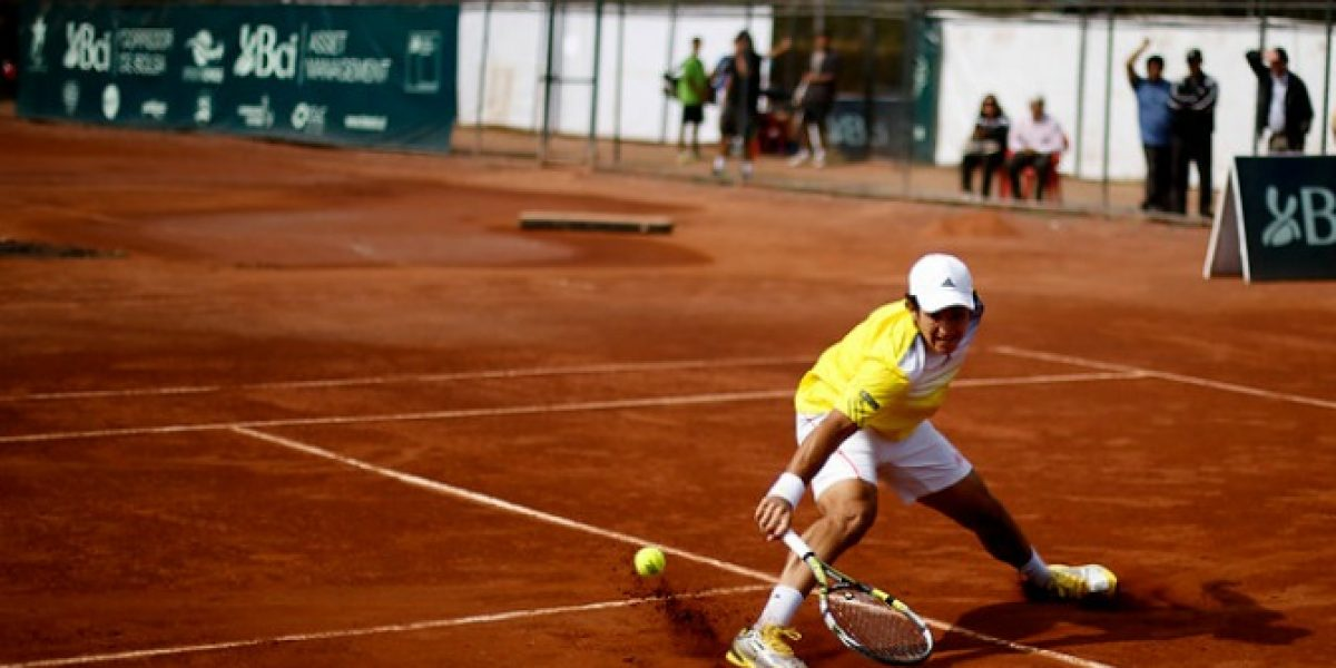 Christian Garín cayó derrotado en primera ronda del Challenger de Bucaramanga