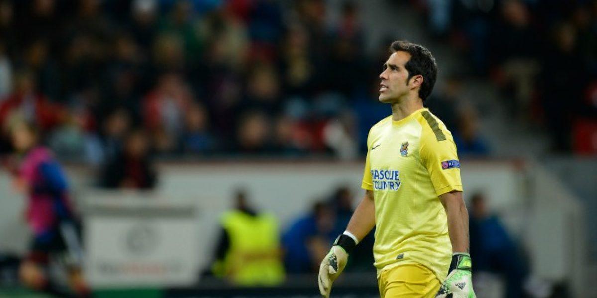 No aguantó el empate: El reto de Bravo a sus compañeros de la Real Sociedad