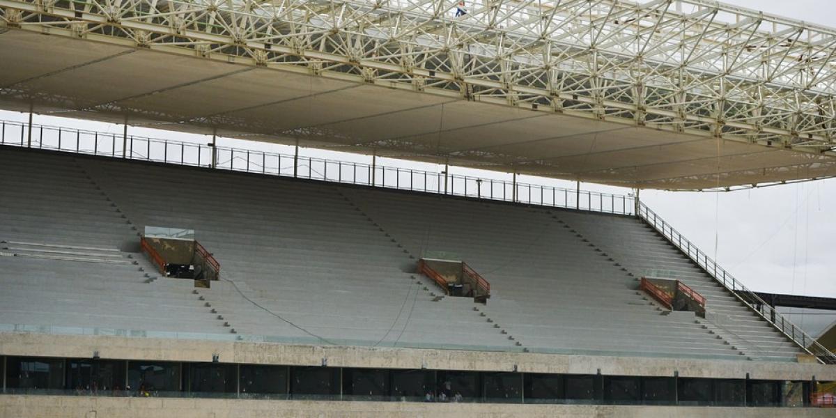Galería: Así está el estadio donde Chile debutará en Brasil 2014