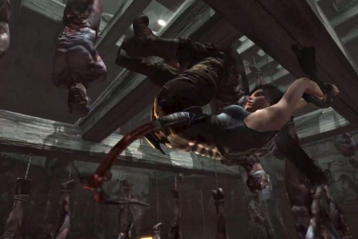 Lara es habilidosa. 2014. Foto:Tomb Raider / YouTube. Imagen Por: