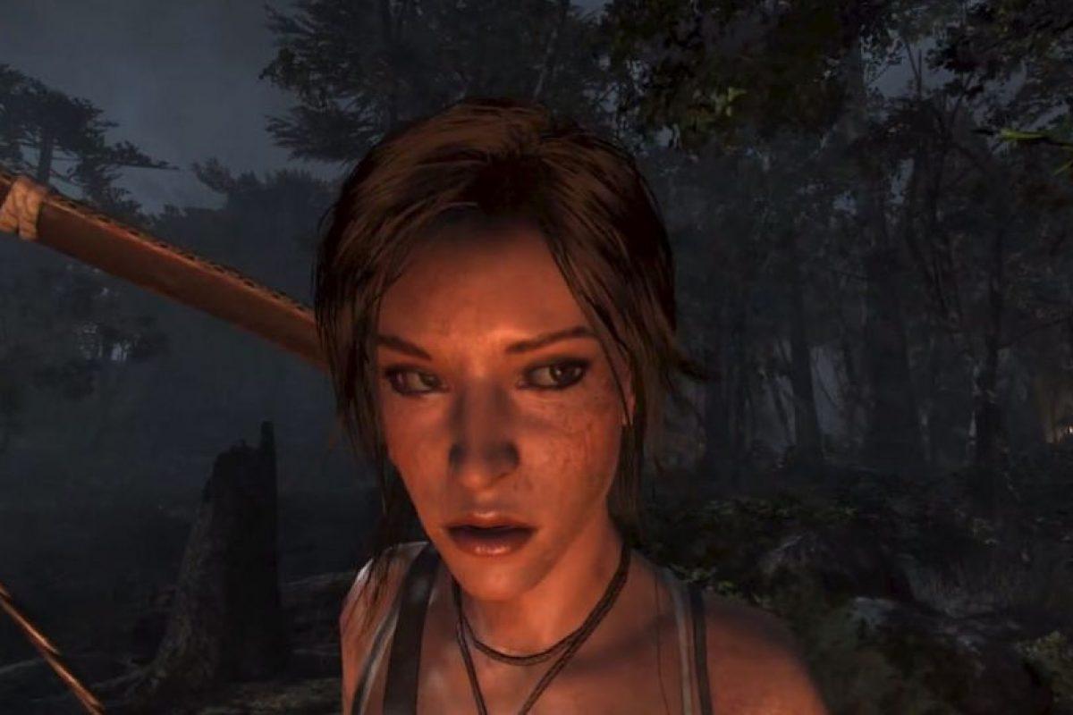 El cutis de Lara en 2014. Foto:Tomb Raider / YouTube. Imagen Por: