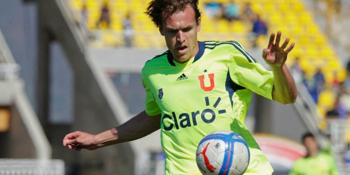 Romero tomó su primera medida en la U: Inscribió a Civelli para la Copa Libertadores