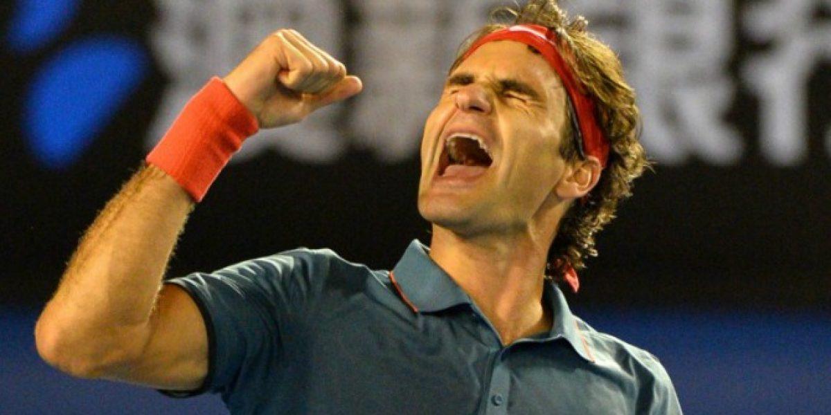 Federer venció a Murray y se medirá ante Nadal en las semifinales del Abierto de Australia