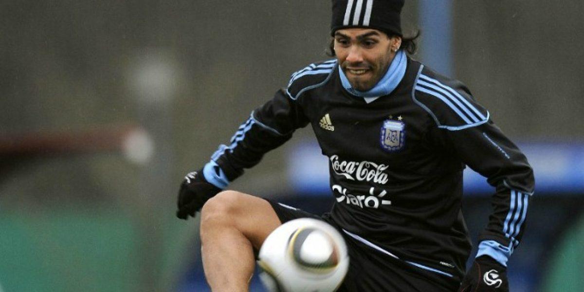 Carlos Tevez podría volver a a vestir la camiseta de Argentina