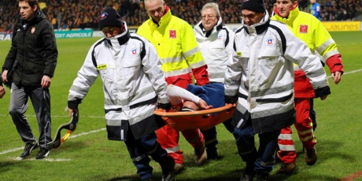 Preocupación en Colombia: Falcao salió lesionado en partido del Mónaco