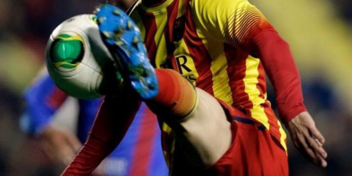 Barcelona dio el primer golpe ante Levante al golear de visita en la Copa del Rey