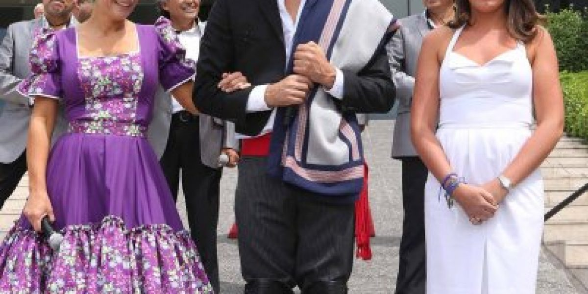TVN se trasladó a Olmué para cubrir el Festival de la chilenidad