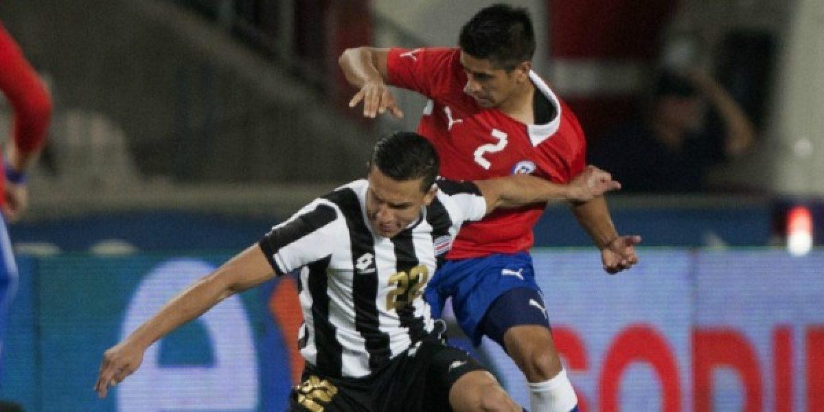 Chile goléo a Costa Rica en su primer amistoso del 2014