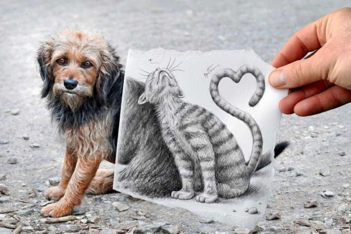 La creatividad de este artista, no tiene límites, observen ustedes mismos Foto:www.facebook.com/ben.heine.artist. Imagen Por: