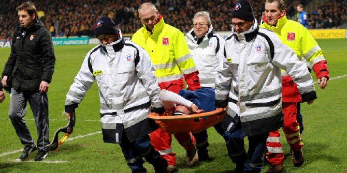 Falcao sufre una grave lesión de rodilla y podría perderse el Mundial