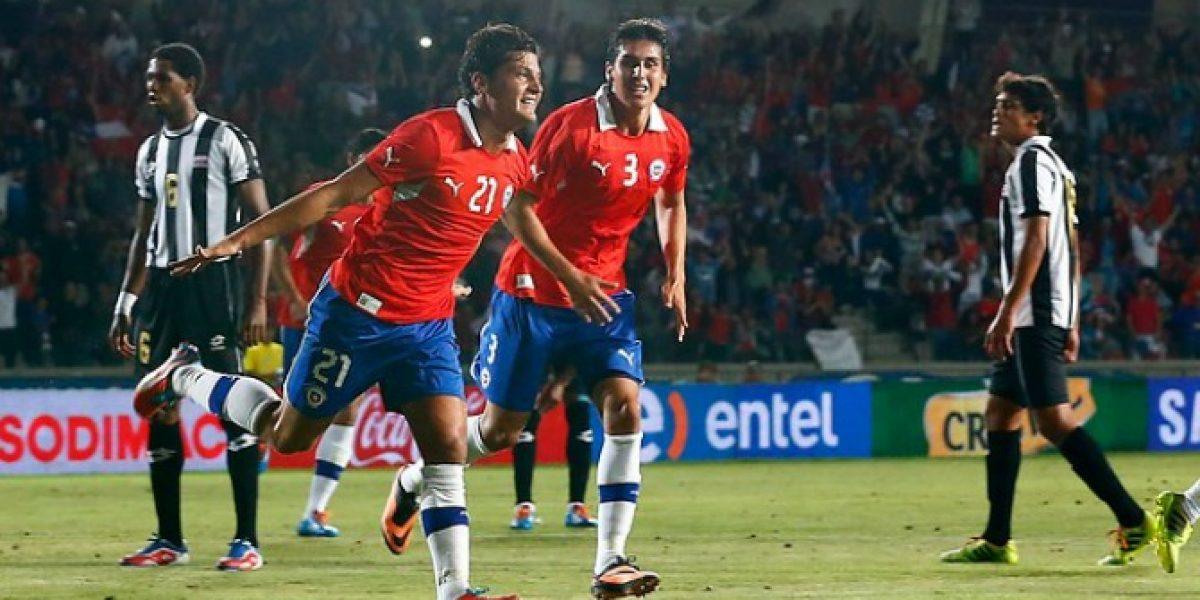 Así celebró en Twitter la figura de la Roja tras el partido frente Costa Rica