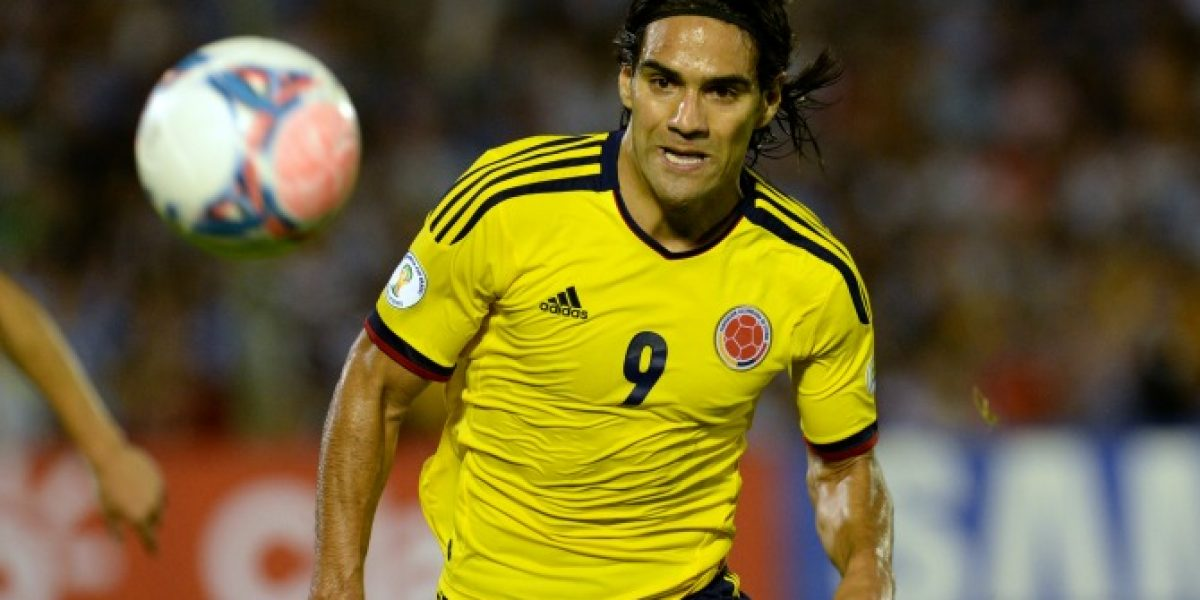 La lesión de Falcao no sólo perjudica a Colombia en la cancha