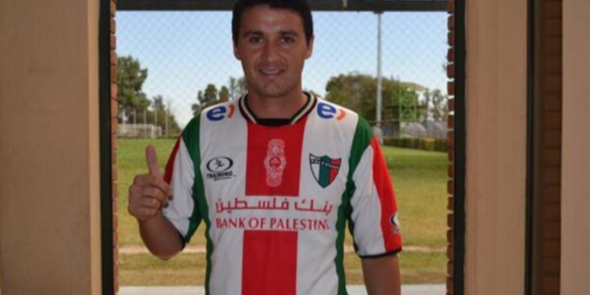 Palestino suma otro delantero para suplir la partida de Roberto Gutiérrez