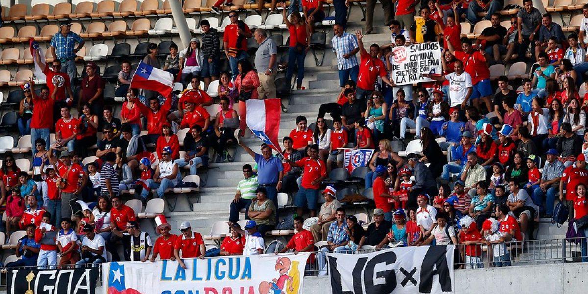 La trastienda coquimbana: El triunfo de la Roja se vivió a pura alegría