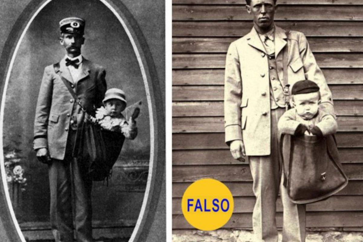 La foto es real, pero la historia que cuenta no. Según Catherine Shteynberg, del museo Smithsonian, se trata de puestas en escena humorísticas Foto:Flickr image. Imagen Por: