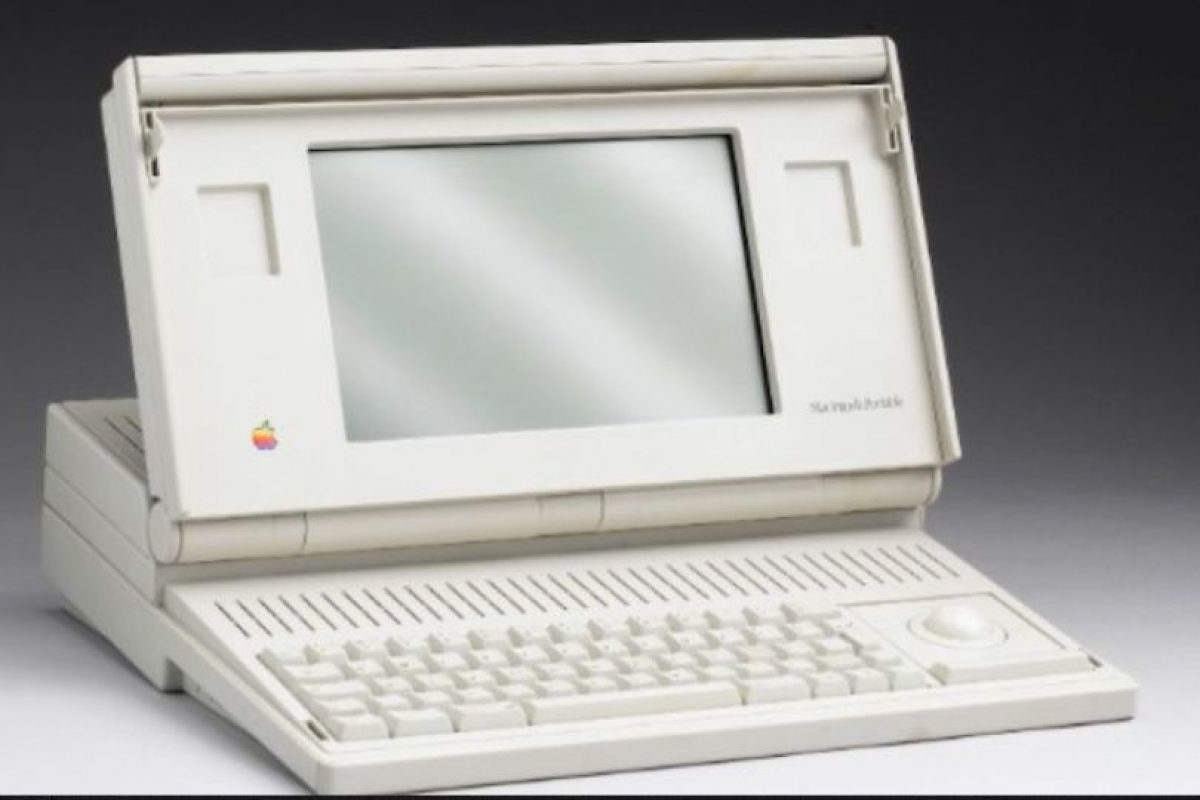 Foto:Mac Portable 1989 Foto: Apple. Imagen Por: