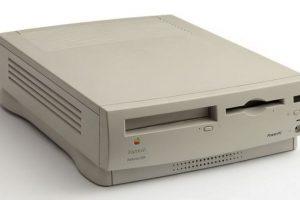 Foto:Macintosh Performa 1995 Foto: Apple. Imagen Por: