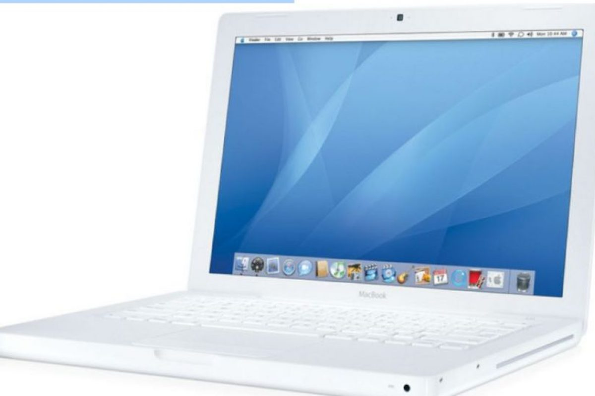 Foto:Macbook 2007 Foto: Apple. Imagen Por: